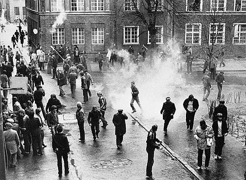 Demonstracje na ulicach